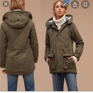Griffith parka from Aritzia TNA